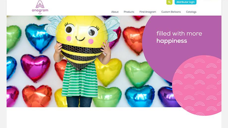 Anagram Website Screenshot